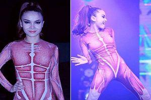 Những lần sao Việt make up 'dị' như đi chơi Halloween