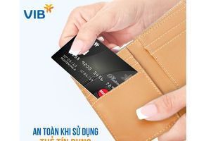 Chủ động bảo vệ an toàn thẻ tín dụng