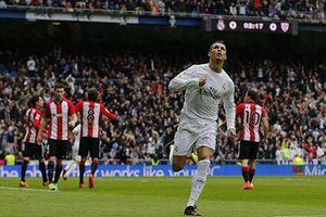 Ronaldo lập cú đúp, Real hạ gục Athletic Bilbao