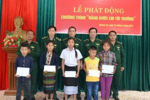 BĐBP Quảng Trị triển khai hiệu quả Chương trình 'Nâng bước em đến trường'