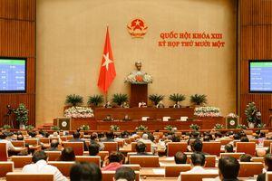 Đại tướng Ngô Xuân Lịch được Quốc hội bầu giữ chức vụ Bộ trưởng Bộ Quốc phòng