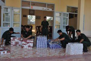 Liên tục bắt giữ các vụ ma túy và buôn lậu