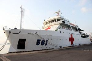 'Bệnh viện trên biển' lớn nhất ĐNÁ của Hải quân Việt Nam