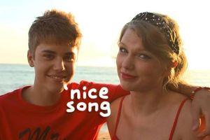 Taylor Swift thích thú khi Justin Bieber cover hit của mình