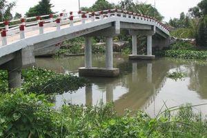 Tiền Giang: Doanh nghiệp tư nhân ủng hộ 1 tỷ đồng xây cầu