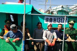 Xua đuổi tàu cá Trung Quốc vi phạm chủ quyền Việt Nam