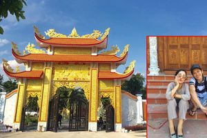 Thúy Nga khoe ảnh thăm đền thờ Tổ hoành tráng của Hoài Linh