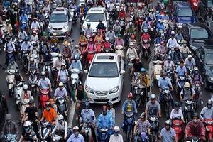 Hà Nội lên phương án cấm xe máy vào nội thành