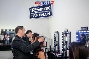 Thí sinh Next Top chinh phục thử thách tóc vào nếp