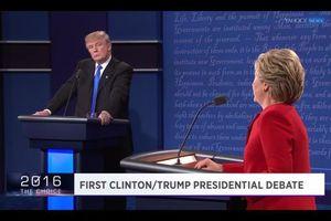 Tranh luận đầu tiên giữa Hillary - Trump: Kẻ tám lạng người nửa cân