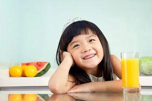 Những loại nước ép tăng sức đề kháng cho bé ngày cuối thu
