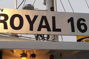 Thông tin chính thức về vụ tàu Royal 16 bị cướp biển tấn công