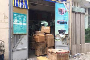 Thu giữ hàng trăm thùng linh kiện điện tử nhập lậu, xuất xứ Trung Quốc