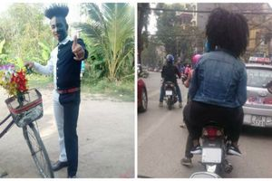 'Quái nhân đường phố' gây bão mạng Việt