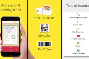 Những ứng dụng giúp biến smartphone thành máy scan