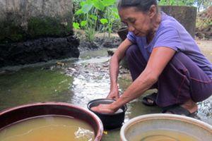 Nghịch lý: Dân Ninh Thuận phải dùng nước bẩn của nhà máy nước sạch