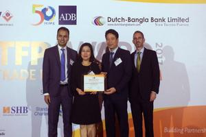 ADB lần thứ hai vinh danh BIDV là 'Ngân hàng đối tác hàng đầu tại Việt Nam'
