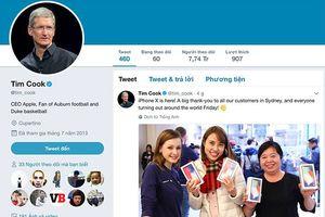 Tim Cook: Người dùng Việt Nam là chủ sở hữu iPhone X đầu tiên thế giới