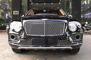Cận cảnh siêu SUV Bentley Bentayga hơn 20 tỷ tại Hà Nội