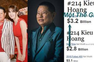 Tài sản tăng 9,1 ngàn tỉ đồng khi yêu Ngọc Trinh, tỷ phú Hoàng Kiều cám ơn fan