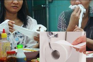 Bỏ ngay thói quen dùng giấy vệ sinh thay giấy ăn sau khi biết được sự thật