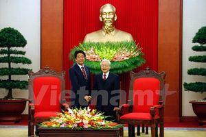 Việt Nam coi trọng quan hệ đối tác chiến lược với Nhật Bản
