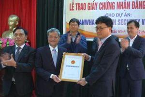 Hanwha Techwin Security đầu tư dự án điện tử 100 triệu USD