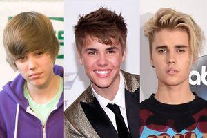 Justin Bieber 'lột xác' qua các kiểu tóc làm tan chảy các fan nữ