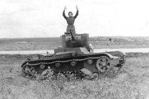 Thê thảm lực lượng xe tăng Liên Xô trong chiến dịch Barbarossa