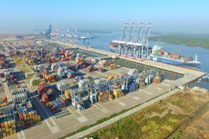 Hơn 76 triệu tấn hàng thông qua cảng biển
