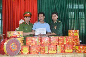 Hà Tĩnh: Bắt đối tượng buôn pháo liên tỉnh