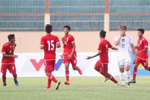 U.19 quốc tế 2017: Myanmar thắng dễ Đài Bắc Trung Hoa