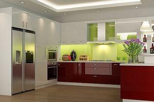 10 mẫu tủ bếp chữ L khiến nhà bạn đẹp long lanh
