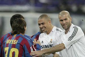 Zidane - ngôi sao duy nhất Messi xin được đổi áo