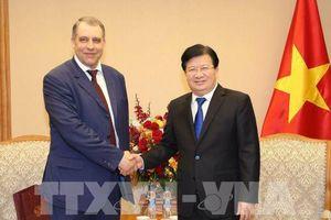 Việt Nam tiếp tục ủng hộ tăng cường quan hệ hợp tác dầu khí với Nga
