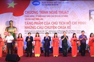 Chương trình nghệ thuật và triển lãm về Chủ tịch Hồ Chí Minh