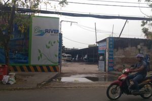 TP HCM: Bãi xe hoạt động bất hợp pháp trên đất dự án Green River?