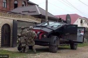 Nga đưa xe bọc thép siêu khủng đến Crimea