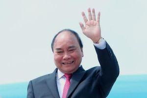 Thủ tướng Nguyễn Xuân Phúc cùng gần 100 doanh nghiệp sang thăm Mỹ