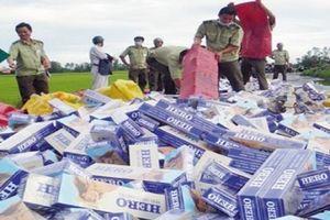 Tái xuất thuốc lá nhập lậu: Rất khó để xác định chất lượng
