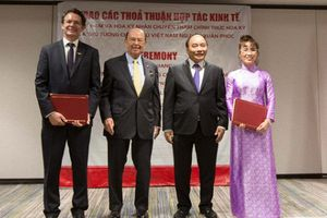 Thủ tướng chứng kiến lễ trao các bản ký kết trị giá hàng tỷ USD