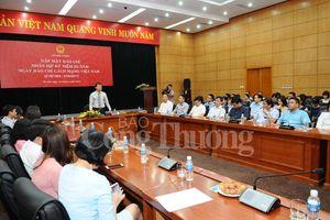 Bộ Công Thương gặp mặt các cơ quan thông tấn, báo chí