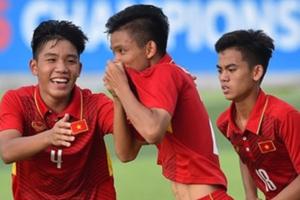 U15 Việt Nam thắng trận thứ 2 liên tiếp tại giải U15 Đông Nam Á