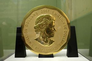 Đồng tiền vàng 100kg bị đánh cắp hồi tháng 3 vẫn còn nguyên vẹn