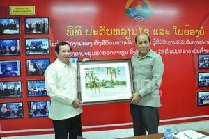Báo Công Thương (Việt Nam) và Báo Kinh tế Thương mại Lào: Tiếp tục đẩy mạnh hợp tác