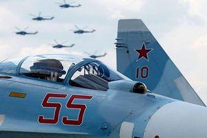 Vì sao Mỹ theo dõi sát sao tiêm kích Su-27SM3 tại Syria?