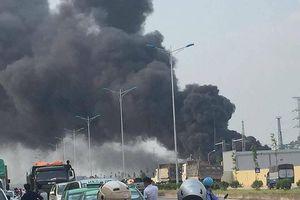 Cháy trạm biến áp 110kV cấp điện cho Samsung
