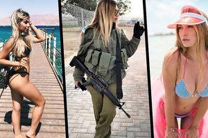 Chùm ảnh: Nhan sắc những nữ binh sĩ Israel gây sốt trên mạng xã hội