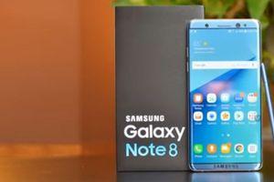 Galaxy Note 8 được trang bị màn hình cảm ứng lực