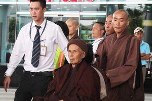 Thiền sư Thích Nhất Hạnh về Đà Nẵng tịnh dưỡng